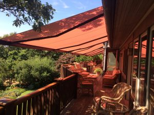 outdoor awning maintenance